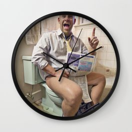 formation of a Great idea Wall Clock