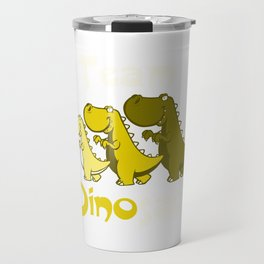 Team Dinosaur (Yellow) Travel Mug