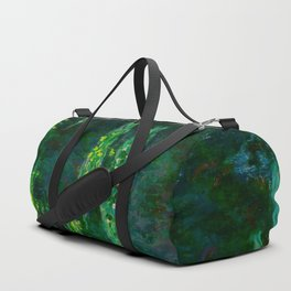 Claude Monet Impressionist Landscape Oil Painting Waterlilies Duffle Bag
