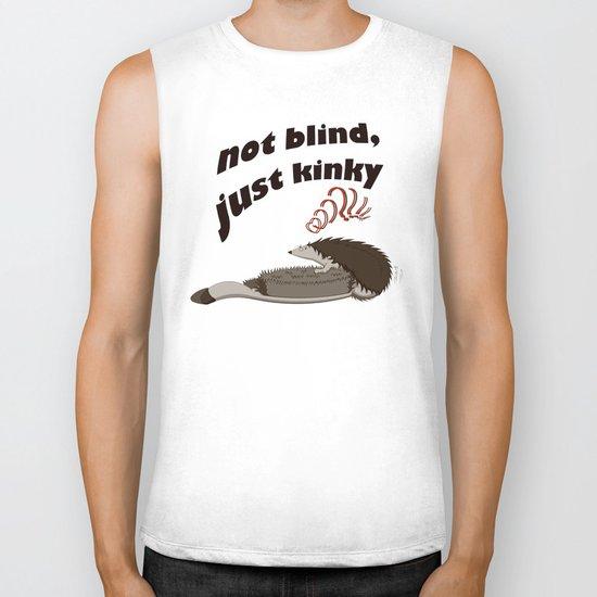 Not blind, just kinky! Biker Tank
