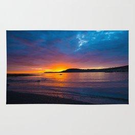 East Coast Sunset Rug