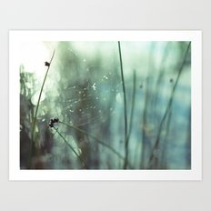 caught, beautifully Art Print