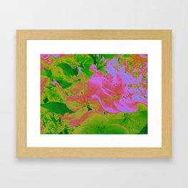 Pink Passion Crabapple Framed Art Print