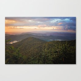 Mystical Mountains Canvas Print