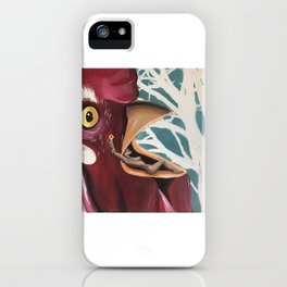 Lady Cock iPhone Case