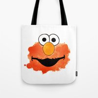 elmo Tote Bags featuring ElmO by Cookstar