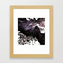 Deep Caverns Framed Art Print