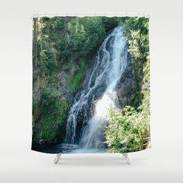ELK MEADOWS WATERFALL Shower Curtain