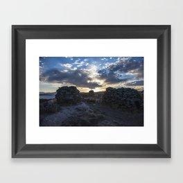Sillustani Framed Art Print