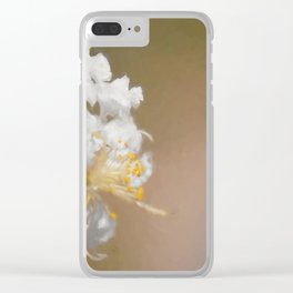 Fruit Flower Clear iPhone Case
