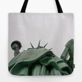 A Lady in green - NYC Tote Bag
