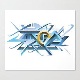 Step 3D 445 Canvas Print