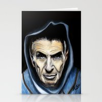 spock Stationery Cards featuring Spock by James Kruse