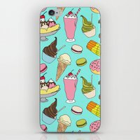 dessert iPhone & iPod Skins featuring Dessert Explosion! by TinyBee