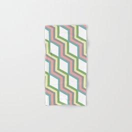 Pastel Cheveron Pattern Hand & Bath Towel