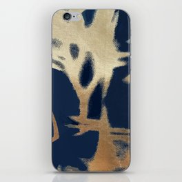 heure bleue iPhone Skin