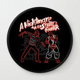 A Nightmare Wall Clock