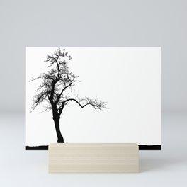 Einsamer Baum Mini Art Print