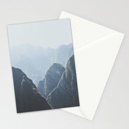 Mountains around Machu Picchu Stationery Cards
