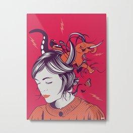 Natalia's world Metal Print