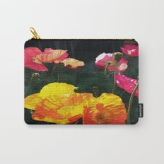 Poppies Four Carry-All Pouch