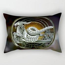 """Astrological Mechanism - Capricornus"" Rectangular Pillow"