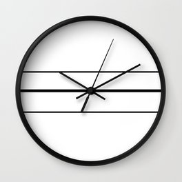 Volleyball Court Wall Clock