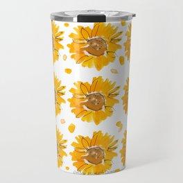 Sunny Sunflowers Travel Mug