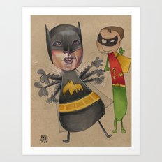 THE BAT CAN'T FLY Art Print