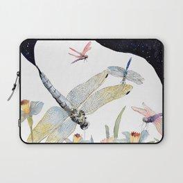 Good Night Surreal Dragonfly Artwork Laptop Sleeve
