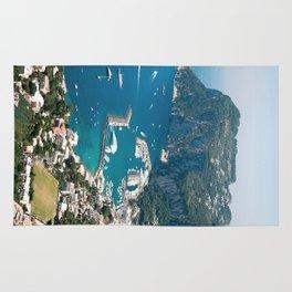 Italy, Capri Landscape View Rug