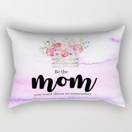 Be mom | Mother's day gift Rectangular Pillow