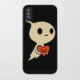 Valentine Ghost iPhone Case
