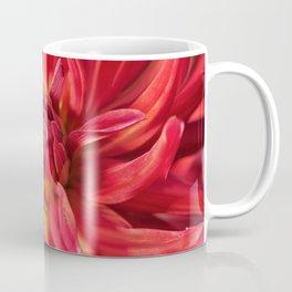 Dahlia red flower Coffee Mug