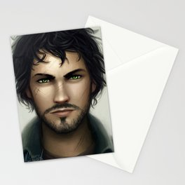 Th Lunar Chronicles - Wolf Ze'ev Kesley Stationery Cards