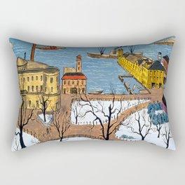 Glenn Coleman Battery Park Rectangular Pillow