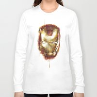 iron man Long Sleeve T-shirts featuring Iron Man by beart24