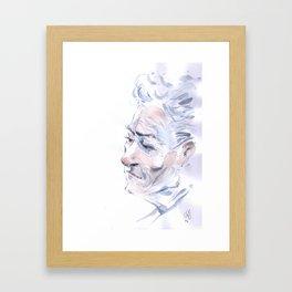 Portrait fantôme Framed Art Print