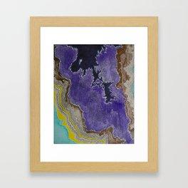 Follow Me To The Shore Framed Art Print