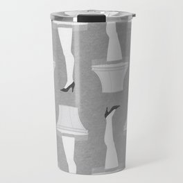 Leg Lamp Grey Travel Mug