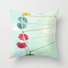 Wheel of Happiness Throw Pillow
