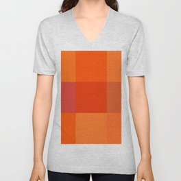 Orange palette Unisex V-Neck