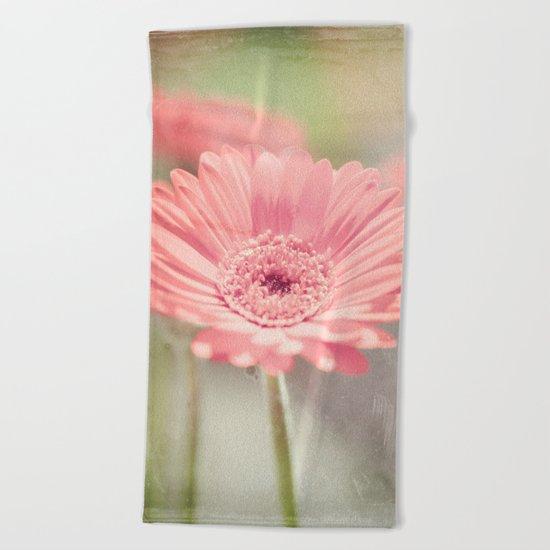 Gerbera Beach Towel