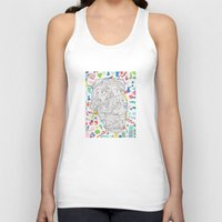 heaven Tank Tops featuring Heaven by Masonjohnson