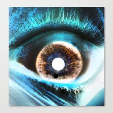 EYE AM  Sci Canvas Print