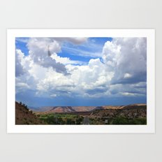 New Mexico Countryside  Art Print