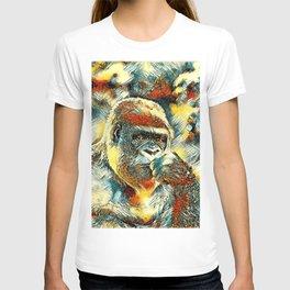 AnimalArt_Gorilla_20180201_by_JAMColorsSpecial T-shirt