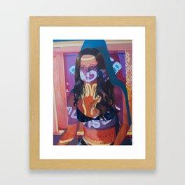 Read Her Advise Her Framed Art Print
