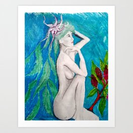 Willow Woman Art Print