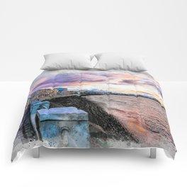 Trapani art 2 Comforters
